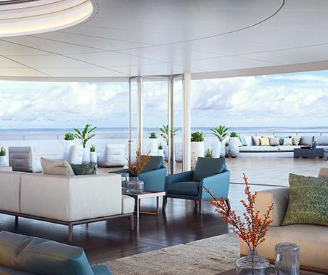 Ritz Carlton Cruise Observation Lounge