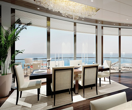 Ritz Carlton Yacht Collection Owners suite