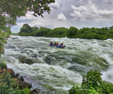 River Nile - White water rafting