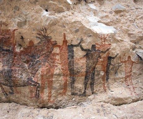 Rock painting Los Cabos