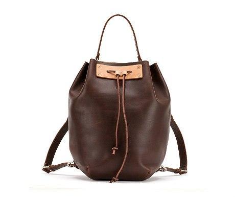 Saddleback leather bucket backpack