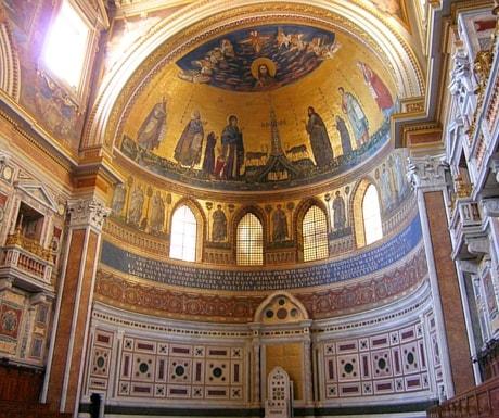 Rome mosaics Italy