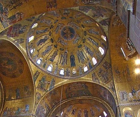 Venice mosaics Italy