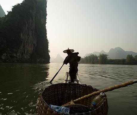Yangshuo fisherman