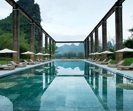 Yangshuo pool