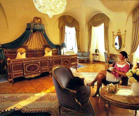 Austrian castle hotels: Schloss Duernstein