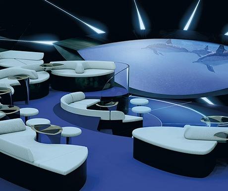 underwater lounge blue eye ponant cruises