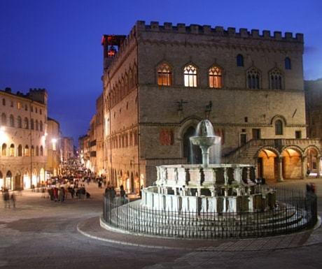 Perugia main square