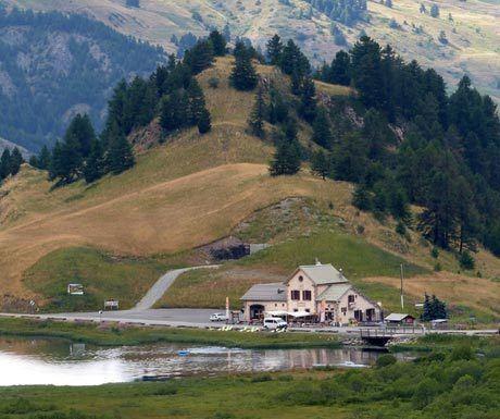 Refuge Napoleon in a remote location