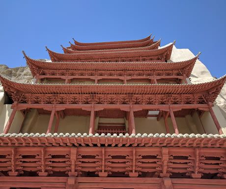 Buddhist temple, Mogao, China