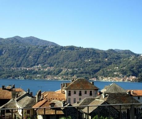 Island view, San Giulio, Lake ORta