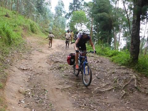rwanda Congo Nile Trail biking