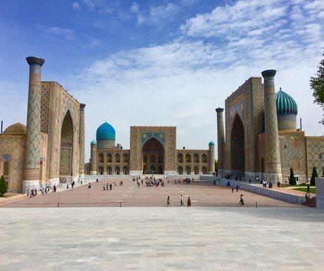 Registan Square Bukhara