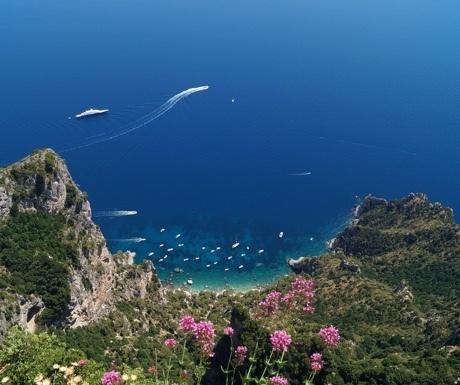 The Italian island of Capri
