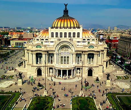 Mexico City world's most exciting cities