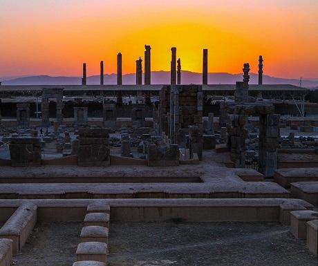 Persepolis at Sunset