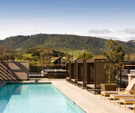 Sustainable Hotels, Bardessono, USA