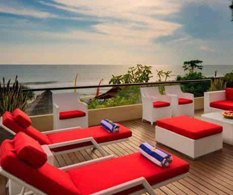 Villa LeGa terrace ocean view