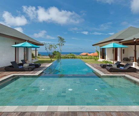 Villa Marie infinity pool