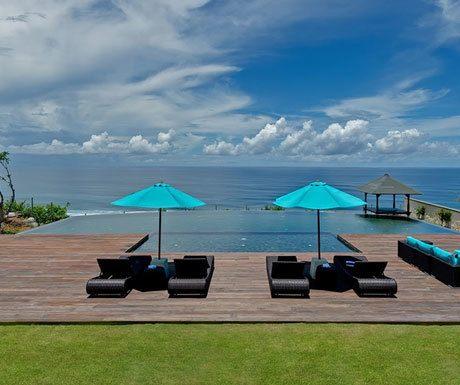 Villa Pala ocean views from infinity pool
