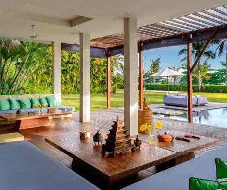 Villa Shalimar Estate from inside