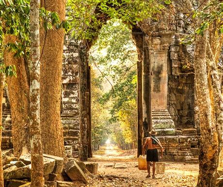 Amansara - Angkor Walks