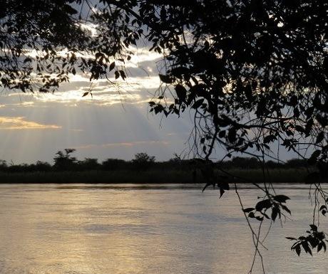 Five  luxury lodges, Okavango River