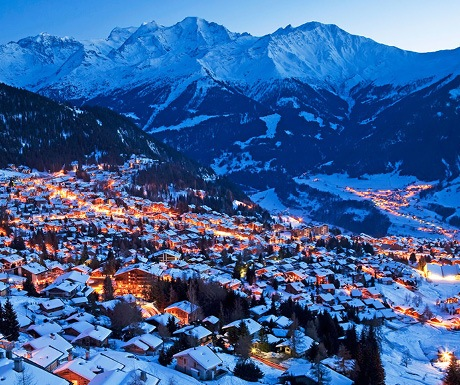 Verbier sits at high altitude