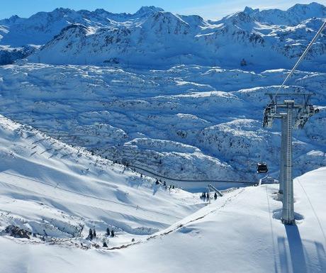 Ski St Anton early this year