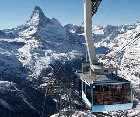 Zermatt has the highest ski lift in Europe