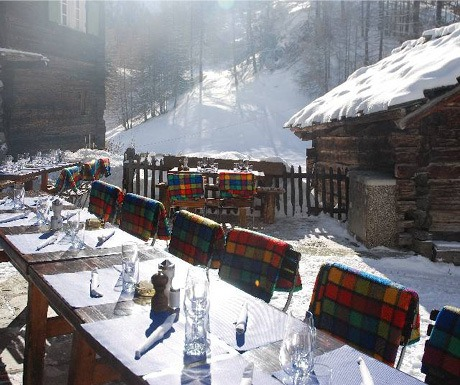 Magical setting at Zem See Zermatt
