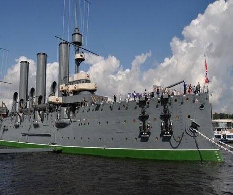 Battleship Aurora St Petersburg