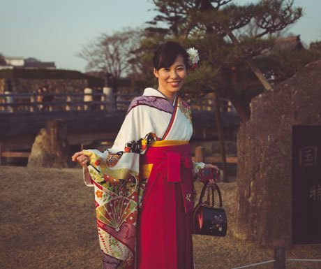 Japanese lady in Kyoto
