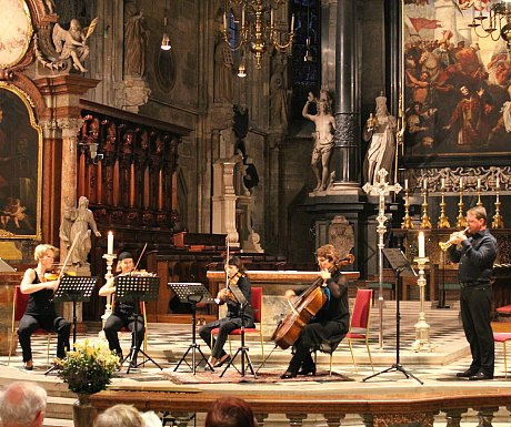 Avoid Tourist Crowds in Vienna: concert at St. Stephen's Cathedral