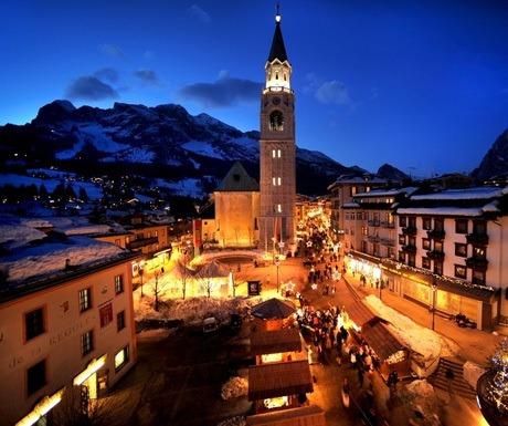 Cortina ski resort, Italy