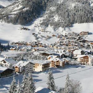 Corvara ski resort, Italy