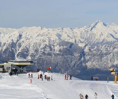 Folgaria ski resort, Italy