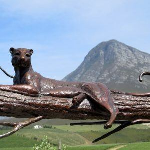 Hemel-en-aarde-wine-estates-creation-art-leopard