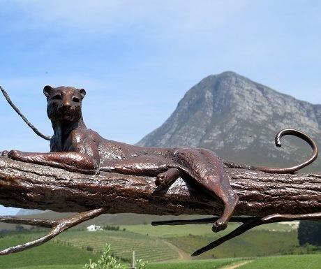 Hemel-en-aarde-wine-estates-creation-art-leopard