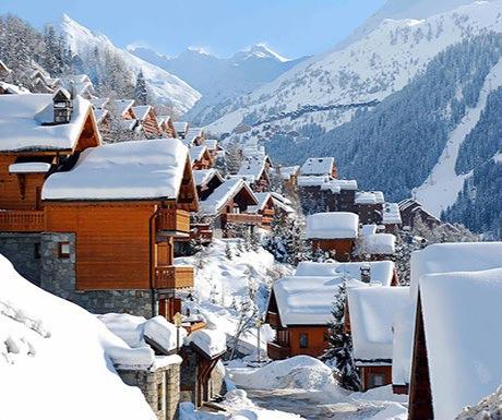Mribel In a Winter wonderland