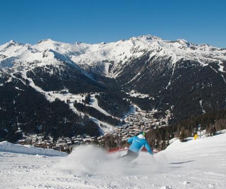 Madonna Di Campiglio ski resort, Italy