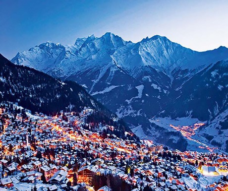 A view over Verbier