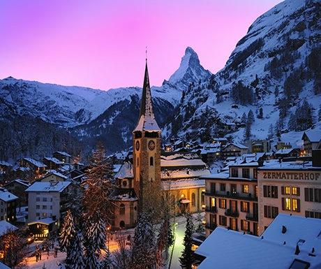 The heart of Zermatt