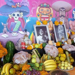 Celebrating Day of the Dead in Mérida