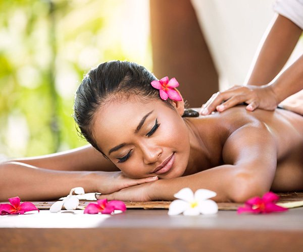 Private massage at luxury spa in Bali