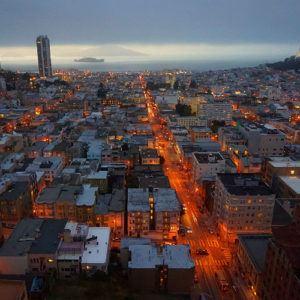 Photograph of the week: San Francisco at night