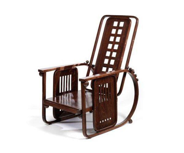 Viennese Modernism Highlights: Josef Hoffmann armchair no. 670