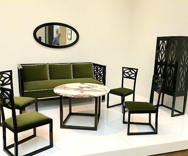 Viennese Modernism Highlights: Kolo Moser furniture