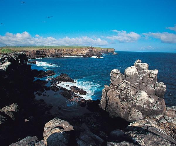 Landscape Coast Galapagos