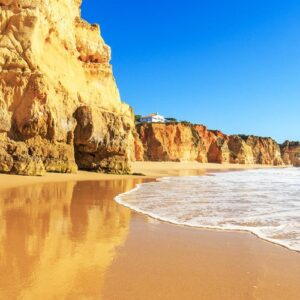 golden beach portugal algarve